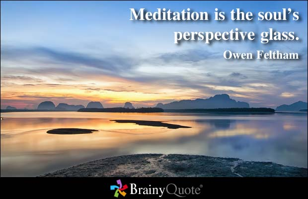 Meditation and Persective owenfeltham